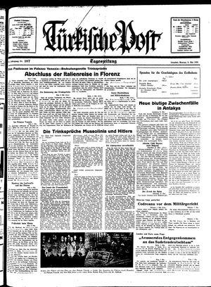 Türkische Post vom 09.05.1938