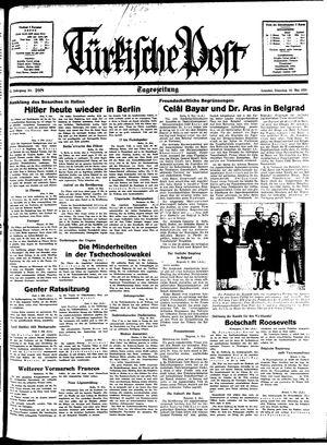 Türkische Post on May 10, 1938