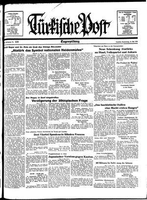 Türkische Post vom 12.05.1938