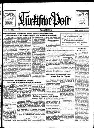 Türkische Post vom 14.05.1938