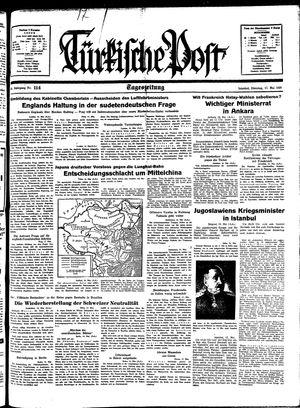 Türkische Post vom 17.05.1938