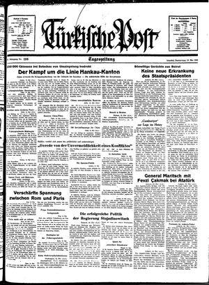 Türkische Post vom 19.05.1938