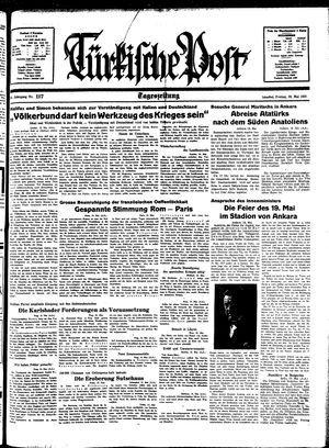Türkische Post vom 20.05.1938