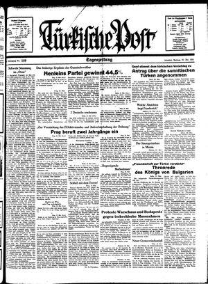 Türkische Post vom 23.05.1938