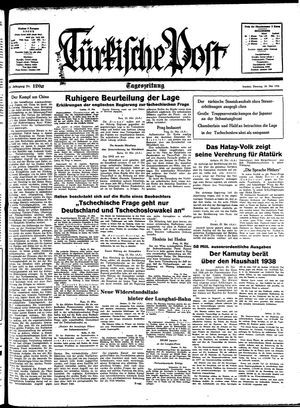 Türkische Post on May 24, 1938