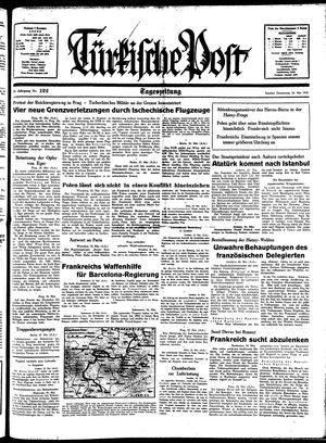 Türkische Post vom 26.05.1938