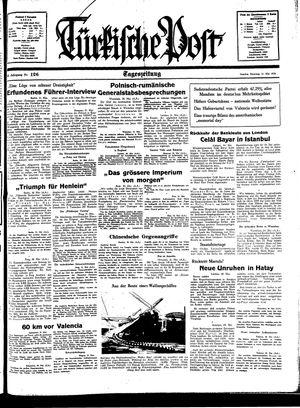 Türkische Post vom 31.05.1938