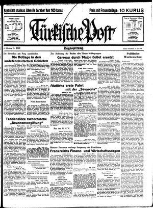 Türkische Post vom 04.06.1938