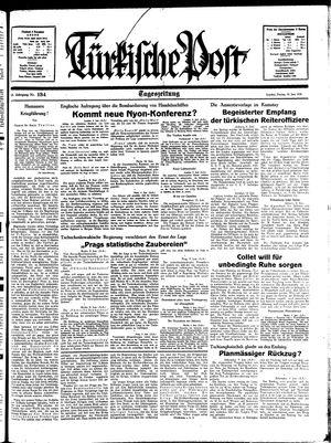 Türkische Post vom 10.06.1938