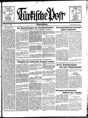 Türkische Post vom 14.06.1938