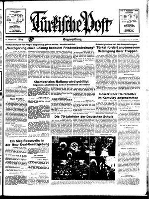 Türkische Post vom 16.06.1938