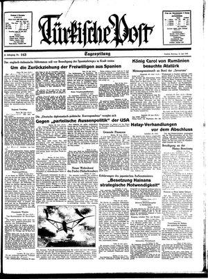 Türkische Post vom 21.06.1938