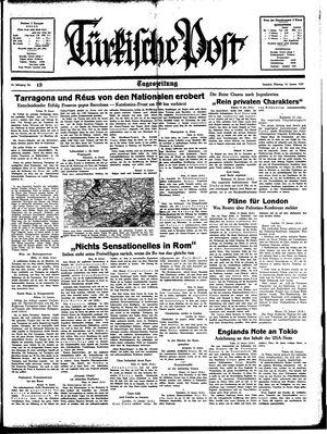 Türkische Post on Jan 16, 1939