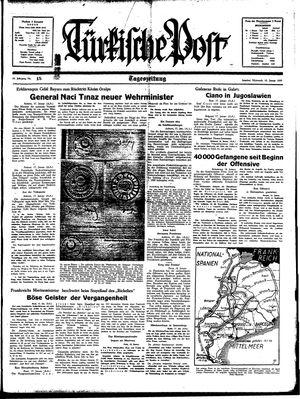 Türkische Post vom 18.01.1939