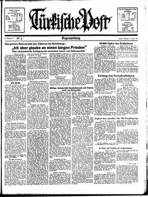 Türkische Post vom 31.01.1939