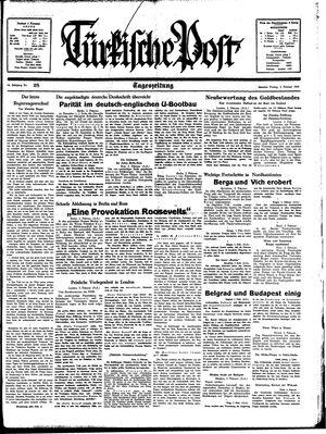 Türkische Post on Feb 3, 1939