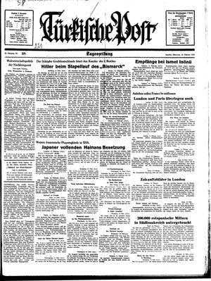 Türkische Post vom 15.02.1939