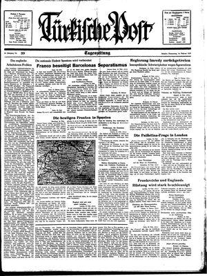 Türkische Post on Feb 16, 1939