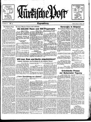 Türkische Post on Feb 24, 1939