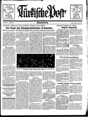 Türkische Post on Mar 7, 1939
