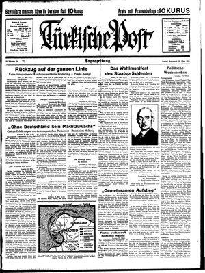 Türkische Post on Mar 25, 1939
