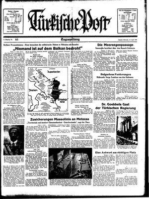 Türkische Post on Apr 12, 1939
