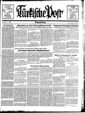 Türkische Post vom 01.05.1939
