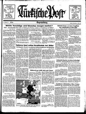 Türkische Post on May 4, 1939