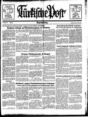 Türkische Post vom 12.05.1939