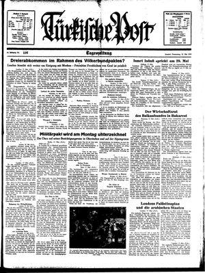 Türkische Post vom 18.05.1939