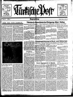Türkische Post vom 19.05.1939