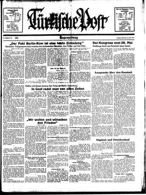 Türkische Post on May 24, 1939