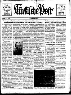 Türkische Post vom 30.05.1939