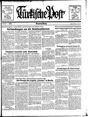 Türkische Post vom 07.06.1939