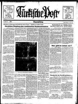 Türkische Post vom 12.06.1939
