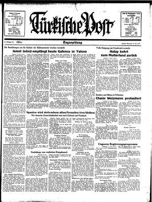 Türkische Post vom 14.06.1939