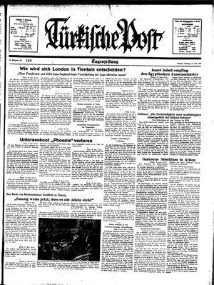 Türkische Post vom 19.06.1939
