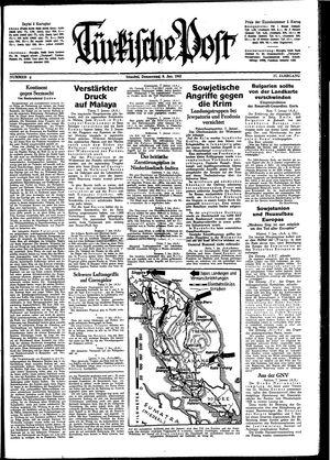 Türkische Post vom 08.01.1942