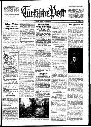 Türkische Post vom 12.01.1942