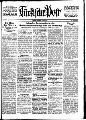 Türkische Post on Jan 31, 1942