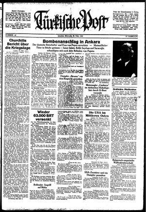 Türkische Post on Feb 25, 1942