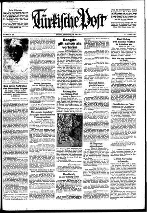 Türkische Post vom 26.02.1942