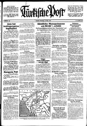 Türkische Post on Mar 10, 1942