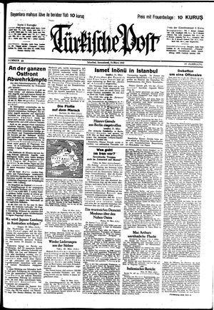 Türkische Post vom 21.03.1942