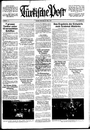 Türkische Post on Mar 25, 1942