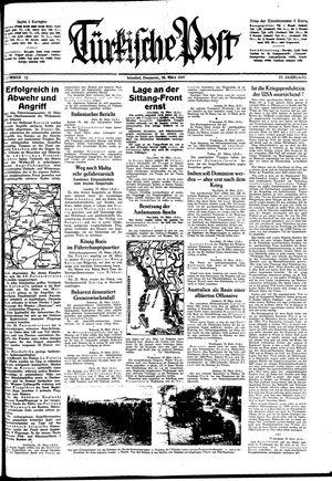 Türkische Post vom 26.03.1942