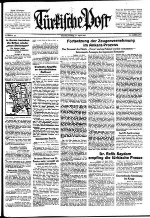 Türkische Post vom 17.04.1942