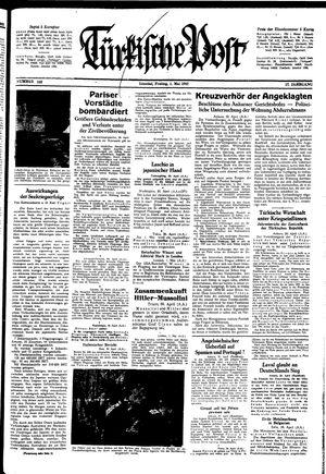 Türkische Post vom 01.05.1942