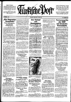 Türkische Post on May 6, 1942