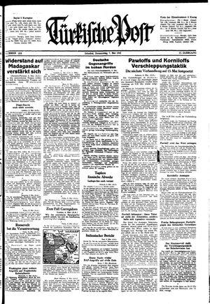 Türkische Post vom 07.05.1942